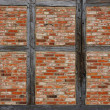Timber frame wall background — Stock Photo #70796399