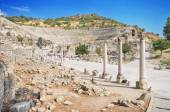Ancient ruins in Ephesus Turkey — Stock Photo