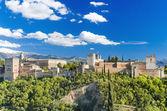 Famous Alhambra palace, Granada, Spain. — Stock Photo