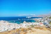 Mykonos cityscape, Mykonos, Greece. — Stock Photo