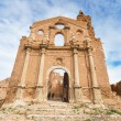 Ruins of an old church destroyed during the spanish civil war in Belchite, Saragossa, Spain. — Stock Photo #53068277