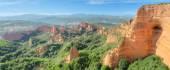 美妙的全景景观的拉斯维加斯梅,古代罗马矿坑的利昂,西班牙. — 图库照片