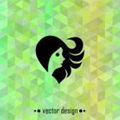 Vector girl — Stock Vector
