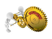 Gears business — Stock Photo