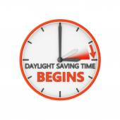 Daylight saving time  — Stock Photo