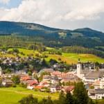 Alpine town in Austria — Stock Photo #53835359