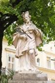 Statue of John of Nepomuk in Bad Ischl, Austria — Stock Photo