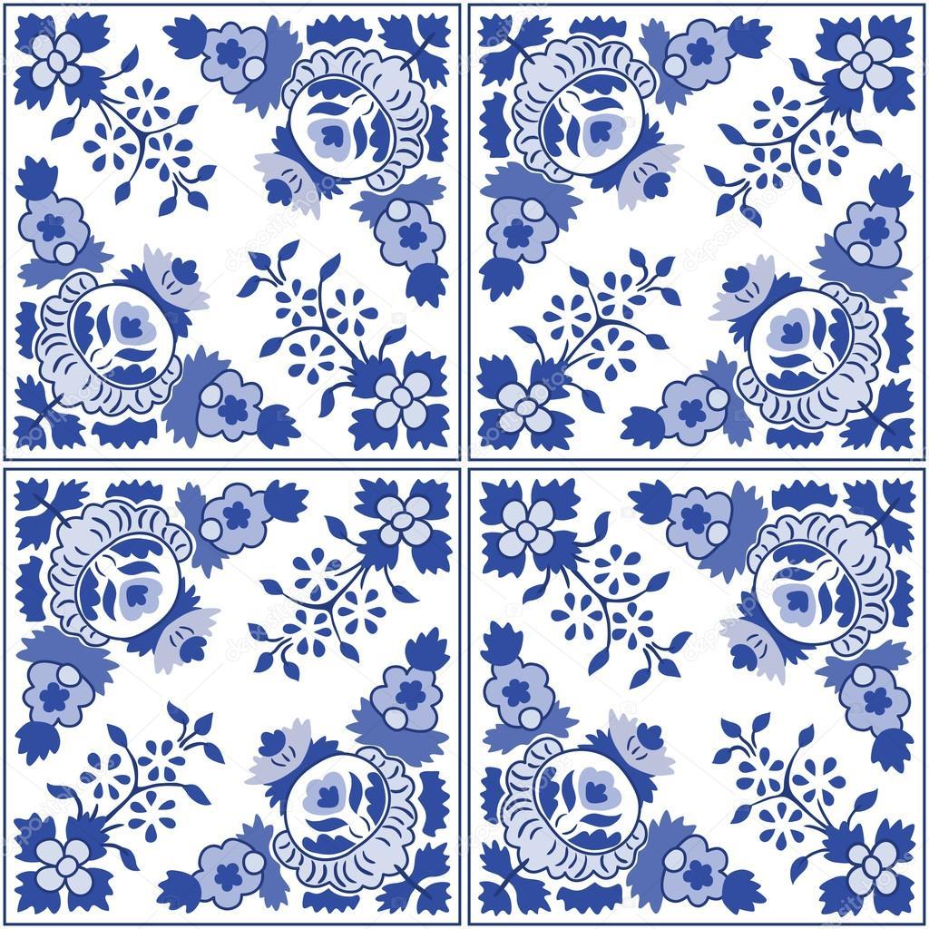 Azulejos azulejos portugueses ornamentales tradicionales - Fotos de azulejos ...