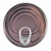 Unopened aluminium tin can.  — Stock Photo