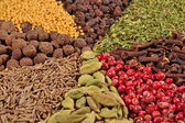 Heap of different spices — Stock Photo
