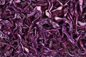 Sliced red cabbage background  — Stock Photo