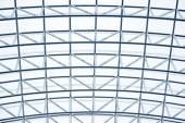 Grey geometric abstract background - part of a modern ceiling — Stok fotoğraf