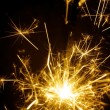 Fire sparkler yellow — Stock Photo #61783125