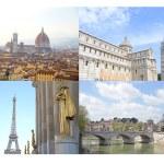 Avrupa tatil - arka plan seyahat — Stok fotoğraf #71243615
