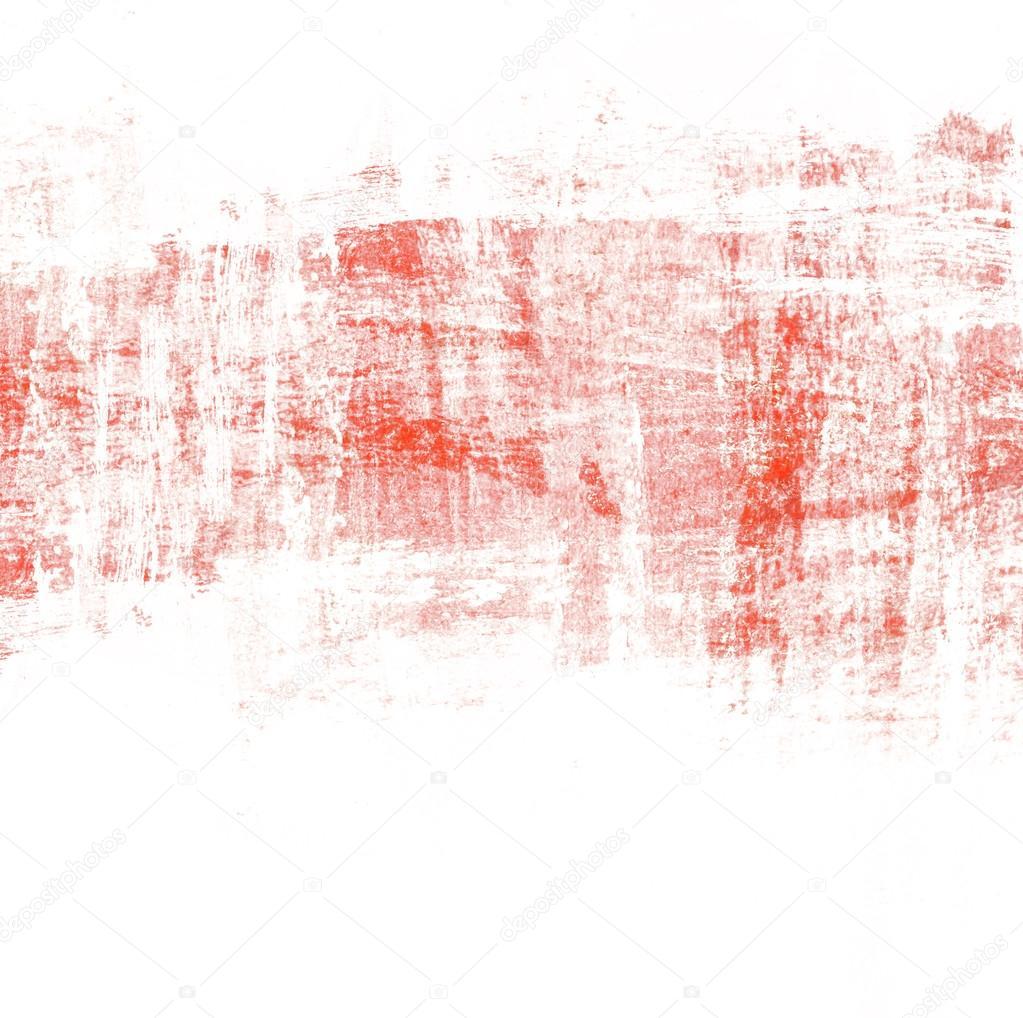 스크래치 텍스처와 추상 빨간 페인트 브러쉬 배경 — 스톡 사진 ...