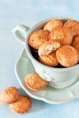 Homemade oat bran cookies — Stock Photo