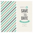 Save the date card, wedding invitation — Stock Vector #56204827