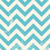Blue chevron pattern with distressed texture — Stock Vector