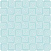 Square chevron pattern background. Vector background blue green — Stock Vector