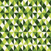 Green low poly pattern background. — Stock Vector