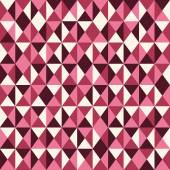 Pink low poly pattern background. — Stock Vector