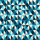 Blue low poly pattern background. — Stock Vector