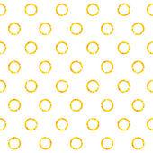 Gold circles  pattern — Stock Vector