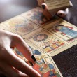 Tarot Card Reader Performing Reading — Stock Photo #53434323