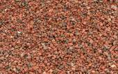 Background texture of expanded clay pellets — Stock Photo