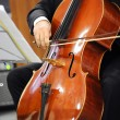 ������, ������: Close up of a cellist playing a cello
