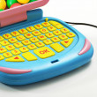 Close up Plastic Computer with Mouse Toy — Stock Photo #64738443