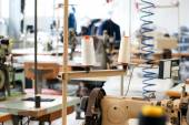 Interior of a tailors shop — Stock Photo