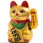Lucky charm cat — Stock Photo #77104339
