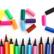 Colored bright markers — Stock Photo #59688143