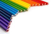 Color bright pencils — Foto Stock