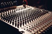 Mixer board — Stock Photo