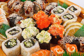 Set of Sushi rolls — Stock Photo
