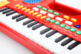 Electrical toy piano — Stock Photo