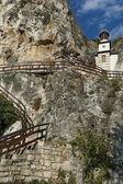 """岩寺""""st dimitrii 的 basarbovo"""",保加利亚 — 图库照片"""
