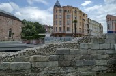 Plovdiv town in preparation of European Capital of Culture in 2019 — Stock Photo