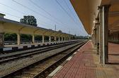 Renovating old station of railway,  Ruse, Bulgaria — Stok fotoğraf