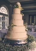 Stunning Wedding Cake — Stock Photo