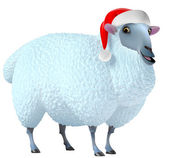 3d cute sheep — Stock Photo