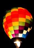 Colorful balloon glow — Photo
