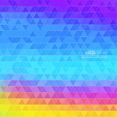 Creative abstract triangle pattern. — ストックベクタ