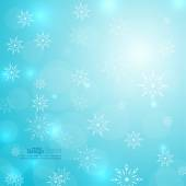 Abstract Winter Background — Stock Vector