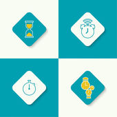 Set of vector icons. — Stock Vector
