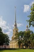 Peter and Paul Cathedral in Saint Petersburg — Stock Photo