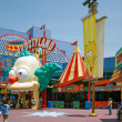 Постер, плакат: Simpsons ride at Universal Studios