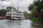 Disney World Frontierland Riverboat Travel — Stock Photo